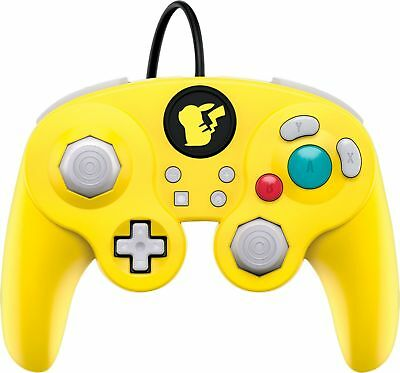 PDP - Wired Fight Pad Pro Pikachu Controller for Nintendo Switch - Yellow