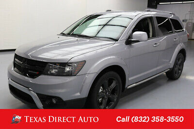 2018 Dodge Journey Crossroad Texas Direct Auto 2018 Crossroad Used 3.6L V6 24V Automatic FWD SUV