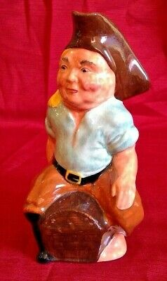 Ridgway Sterling Pottery Pirate Toby Mug With A Pistol Handle Made In England