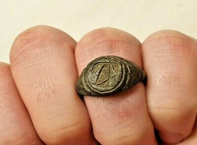 ROMAN AGED ANCIENT RING / nice early jewelry