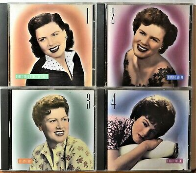 4-CD Set No Box The Patsy Cline Collection CLEAN Hits Best 114 Songs Ultimate