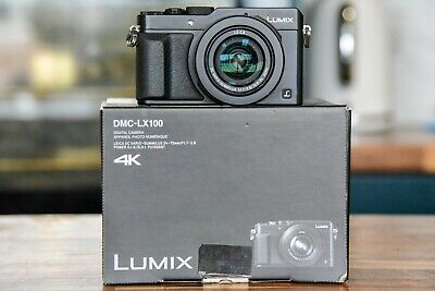 Panasonic LUMIX DMC-LX100 12.8MP Digital Camera - only 3450 Shutter Count