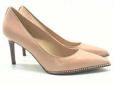 d1b808f0ce76 COACH VONNA LEATHER Pump Retails  165.00 Plum Size 8 -  125.00 ...