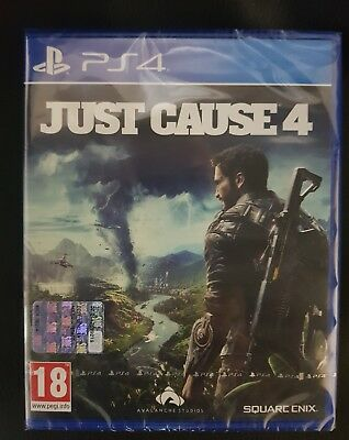 JUST CAUSE 4 Playstation Nuovo Sigillato PS4 4k Hdr ITA