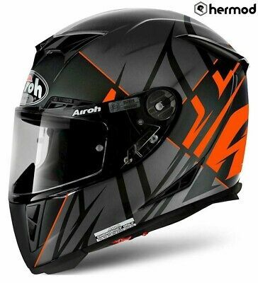 Airoh GP 500 Full Face Motorcycle Helmet - Sectors Orange