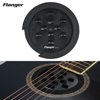 Flanger Fs-08 Guitar Soundhole Sound Hole Cover With Block Feedback Buffer H8G0