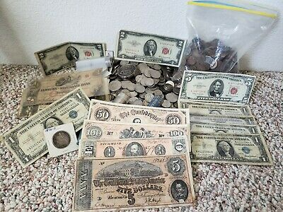 ✯Estate Sale Lot Old Us Coins✯Currency✯Pcgs Ngc✯ Silver Bullion✯50 Years!