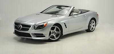 2016 SL400 Roadster SL 400 2016 Mercedes-Benz SL 400 Roadster Iridium Silver over Crystal Grey with 8293 Mi