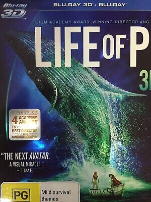 LIFE OF PI - BLURAY 2013 *2D Disc Only - 3D Disc Not Included*