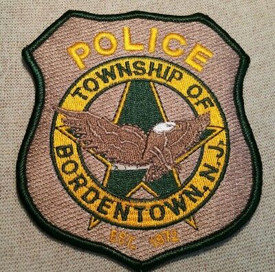 NJ DOVER TWP  New Jersey Police Patch - $7 95 | PicClick