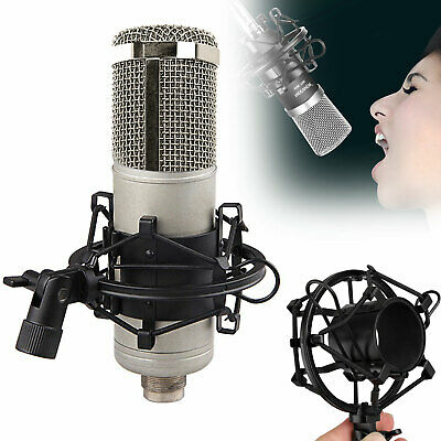 48mm-54mm Microphone Shock Mount w/ Clip For Studio Sound Record Condenser Mic
