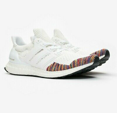 01a1e9501 Mens Adidas UltraBOOST Ultra Boost LTD Limited Running Sneaker - White ( BB7800)