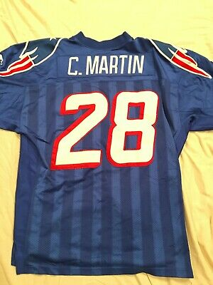 619184f2b08 Authentic Starter CURTIS MARTIN No. 28 NEW ENGLAND PATRIOTS (Size 52) Jersey