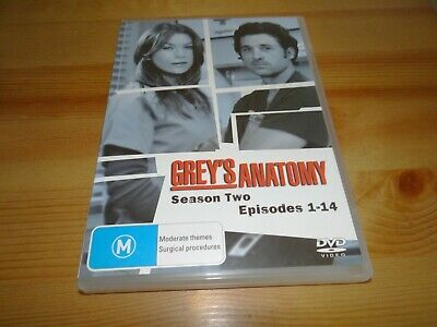 Grey's Anatomy Season Two Episodes 1-14 Dvd *Bargain*