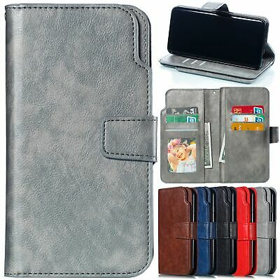 For Samsung Galaxy J3 J5 J7 Pro A5 2017 Case Card Wallet Slot Leather Flip Cover