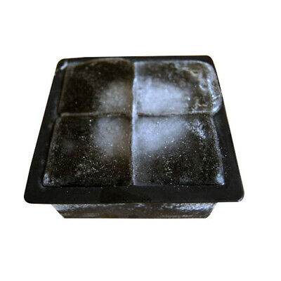 Giant Jumbo-King Size Large BBQ Ice Cube Square Tray Mold Jelly Silicone Mould n