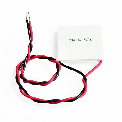 TEC1-12706 Heat Sink 12V 5A Thermoelectric Cooler Cooling Peltier Plate Module