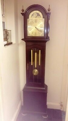 A Superb German Triple Chime German longcase clock