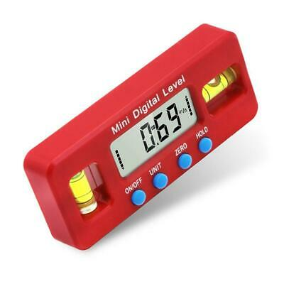 Electronic Digital Display 100mm Level Ruler Inclinometer Angle Rule Measuring T