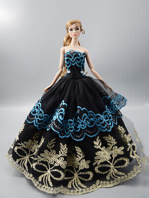 Fashion Princess Party Dress/Evening Clothes/Gown For Barbie Doll a11