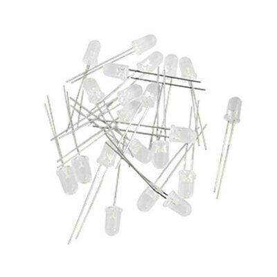 200Pcs 5mm Ultra-Bright LED Light Emitting Diode Component Kit for PCB Circuit n