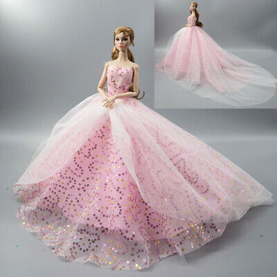 Fashion Princess Party Dress/Evening Clothes/Gown For 11.5 in. 12 inch Doll M17