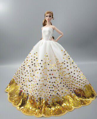 Fashion Princess Party Dress/Evening Clothes/Gown For 11.5 in. 12 inch Doll M13