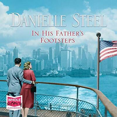 In His Father's Footsteps by Danielle Steel New CD-Audio Book