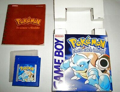 Pokemon Blue for Nintendo Game Boy DMG-01 - Gameboy