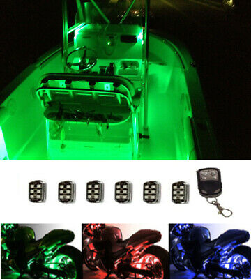 Electrical /& Lighting Boat Lights LED Pontoon /& Fish all colors REMOTE new