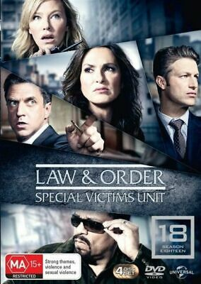 Law And Order SVU - Special Victims Unit : Season 18 DVD : NEW