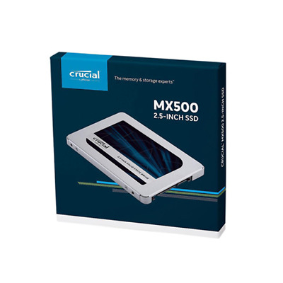 Hard Disk Ssd Solid State Disk 2.5 Crucial 500Gb Mx500 3D Ct500Mx500Ssd1
