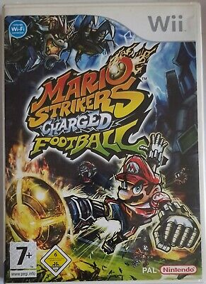 Nintendo Wii Spiel Mario Strikers Charged Football