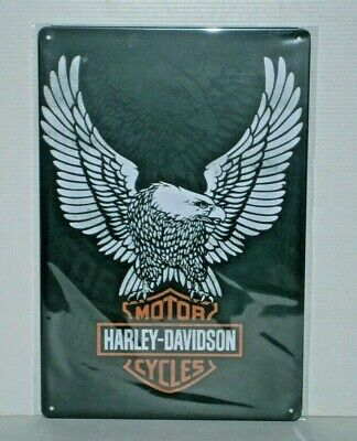 HDEMS1 Harley-Davidson Eagle Metal Sign New 30 cm H X 20 cm W