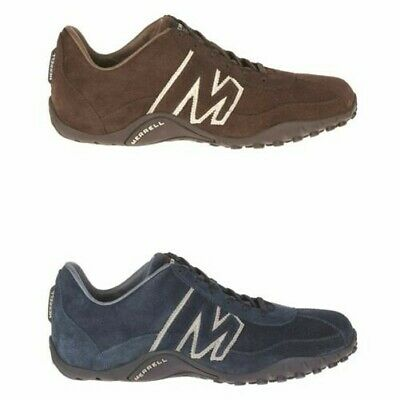 Merrell Mens Sprint Blast Trainers Merrell Suede Walking Hiking Shoes Trainers