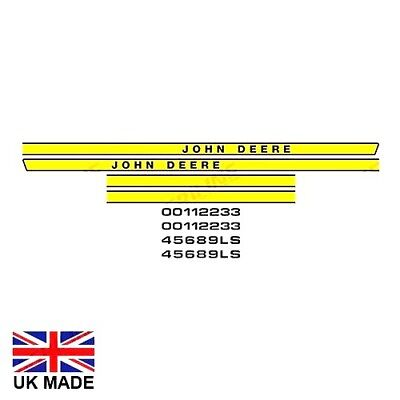 Decal Set Fits John Deere 1030 1130 1630 2030 2130 3030 3130 Tractors.