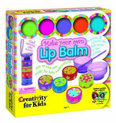 LEGO CREATIVITY FOR KIDS KIT MAKE YOUR OWN LIP BALM (Bz3)