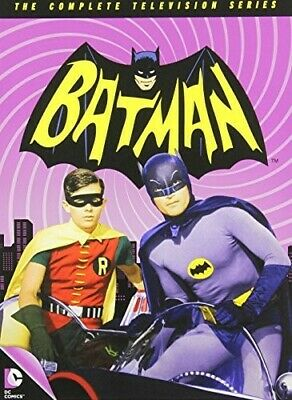 Batman: The Complete 1966 Television Series (18 Disc) DVD NEW