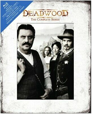 Deadwood (2004): The Complete Series (Timothy Olyphant) (DigiBook) BLU-RAY NEW