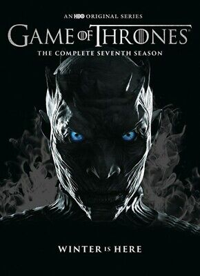 Game of Thrones: The Complete Seventh Season (Season 7) (4 Disc) DVD NEW