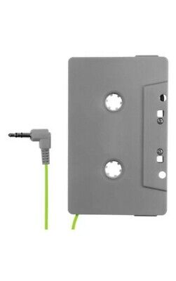 FuseBox Car Truck Aux In Audio Cassette Tape Adapter for iPod iPhone Samsung