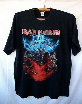 official t-shirt IRON MAIDEN 2008 Nordie tour Somewhere back in time