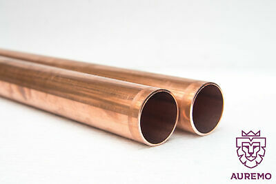 Copper Pipe 6x1mm-54x1.5mm Rod 2.0090 Ral-Dvgw Heating Drinking <2 Meters