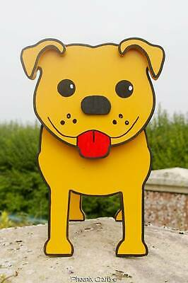 Staffordshire Bull (Staffie) Terrier Planter Garden Ornaments Dogs Decorations