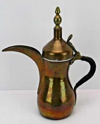 Dallah Arabic Coffee Pot Islamic Oman UAE Qatar Dubai Kuwait Signed