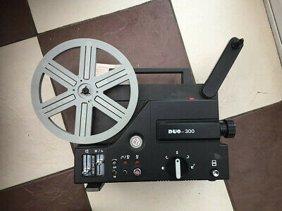 super 8mm cine film projector sound duo 300