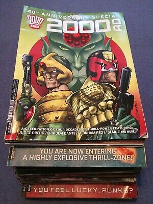 2000AD Comic Collection - The First 40 Years! Plus annuals, specials and more