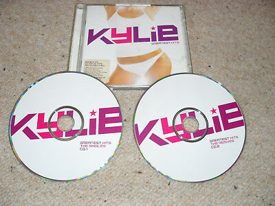 Kylie Minogue- Greatest Hits- 2 Cd- Good Condition- 33 Tracks. (2002)