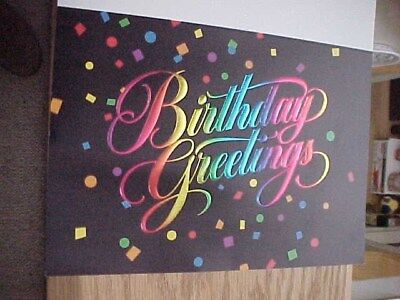 Las Vegas Sands Birthday Card With Envelope Vintage Unused