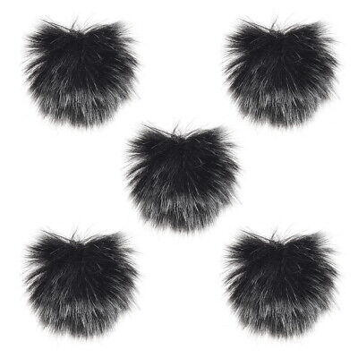 Furry Outdoor Microphone Windscreen Muff Mini Lapel Lavalier Microphone W2M9